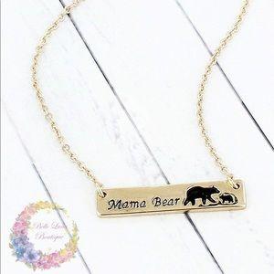 Jewelry - Mama Bear & Cub Necklace